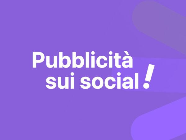 Pubblicità sui Social