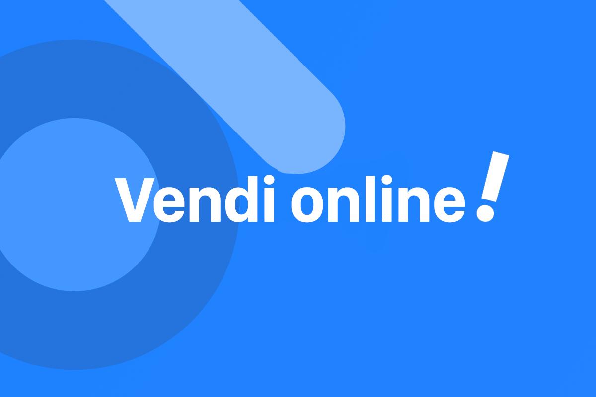 Vendita prodotti online